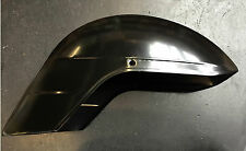 Front mudguard in black primer for Vespa PX (non-disc version) by F.A. Italia