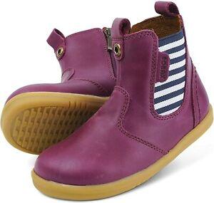 Bobux I-Walk Jodphur Boots In Boysenberry Jester Leather ( New Season)