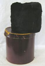 Vintage Ladies Black Fur Muff in Original Box 1920s-30s