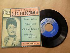 45 GIRI SMOOTH SAILING - ELLA FITZGERALD DECCA ED2028