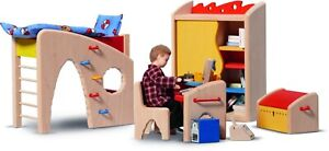 Dollhouse Bodo Hennig Kinderzimmer-Stuhl 23748 Dollhouse Furniture Dollhouse