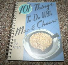 101 Things To Do With Mac & Cheese Cookbook Toni Patrich