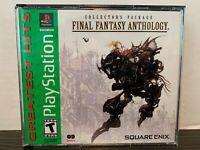 FINAL FANTASY ANTHOLOGY PlayStation Game PS1