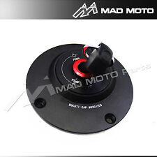 CNC Fuel Tank Gas Cap For Ducati 748 916 998 Monster 600 750 1000 BLACK