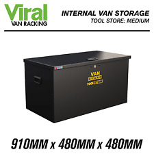 Van Guard Tool Store Medium VG500M Zintec Steel Van Vault 910mm x 480mm x 480mm