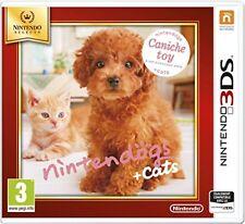 Nintendogs Cats Caniche Toy & ses Nouveaux amis - Nin