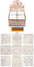 12 x nozze Attività Pack GIOCHI Puzzle Da Colorare Per Bambini p8066