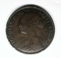 1862 1/2 Penny KM#748.2 GB Bronze-Make Us An Offer- E00024