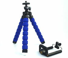 Universal Mini Flexible Tripod Mount + Phone Holder For Mobiles/Camera
