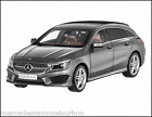 Mercedes Benz X 117 CLA Shooting Brake Mountaingrau 1:18 Neu OVP NOREV
