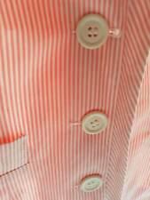 Asos Ladies jacket size 8 candy pink stripe
