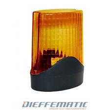 Luce Lampeggiante per cancello automatico a scorrimento o battenti garage 230v