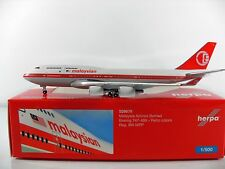 Herpa Wings 1:500 Malaysia Airlines Boeing 747-400 - retro colors Art. Nr. 529679