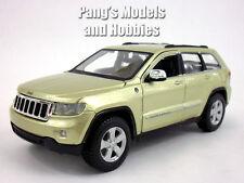 Jeep Grand Cherokee Laredo 1/24 Scale Diecast Metal Model by Maisto - CHAMPAGNE