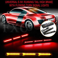 2pcs 60 LED Stop Brake Light Strip Tail Warning Turn Signal Flowing Indicator AU