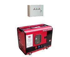 WM8000SS-3,Diesel-Stromerzeuger-Notstromaggregat,400V,7.8 kVA,IP54+super leise!!