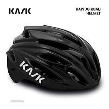 NEW 2021 Kask RAPIDO Road Cycling Helmet : BLACK/BLACK