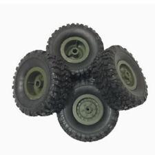 4pcs/set pneus assemblés pour WPL B14 B16 B24 C14 C24 Truck 1/16 RC voiture
