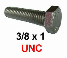 "7//16 5//16 8 3//8 1//4 1//2/"" 1/"" UNC A2 Acier Inoxydable Hex Hexagonal plein Nuts"