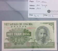 BILLET 100 DONG - VIET-NAM 1951