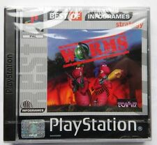 WORMS PS1 PLAYSTATION ONE  PAL COVER MULTILANGUAGES ENG DEUT FRANCH