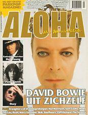 MAGAZINE ALOHA 2002 nr. 04 - NEIL YOUNG / DAVID BOWIE / OZZY OSBOURNE /WALLY TAX