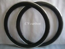 25mm width, 60mm clincher rim with Alloy brake surface /carbon road racing rim