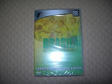 """DVD BRASIL """"les étoiles du footbal"""" l'histoire complète du football brésilien"""