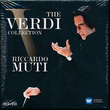 Riccardo Muti The Verdi Collection box CD NEW 28 CD + DVD