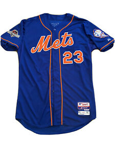 Michael Cuddyer 2015 New York Mets Game Issued Baseball Jersey - MLB Hologram