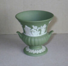 Jasperware Urn Green Wedgwood Porcelain & China