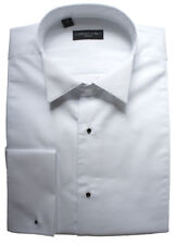 """100% Cotton Stud Front Marcella Wing Collar Shirt 19"""""""