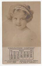 1917 Osmun Cook Company Rppc Real Photo Newark New Jersey Atlantic City Nj Depot