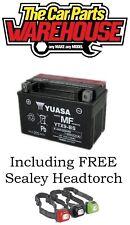 GENUINE YUASA YTX9-BS Bike & Quad BATTERY 8Ah 12V ACID GEL # Cheapest on Ebay #