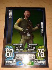 Force Attax Star Wars Serie 4 Star Karte 223 Sixtat Sammelkarte Trading Card