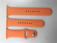 Original OEM Apple Watch Series 5 4 3 2 1 Sport Band 42mm 44mm Silver Pin Papaya