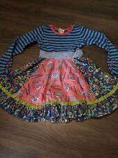 Matilda Jane Girls L/S Floral Print Dress Size 4