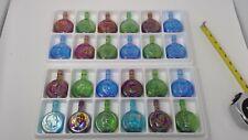 Set of 24 Wheaton Presidential Miniature bottles  - In Original Boxes