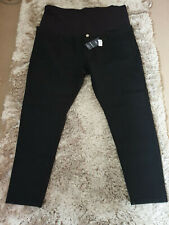 """M&S Black Skinny Stretch Maternity Jeans """"Over the bump""""  BNWT Size 24 Leg 28"""""""