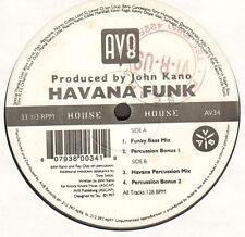 JOHN KANO - Havana Funk - av8