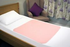 Waterproof Absorbent Incontinence Bed Pad Mattress Protector, Without Tucks