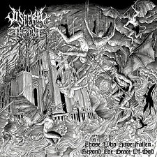"""VISCERAL THRONE """"Those Who Have Fallen Beyond the Grace of God"""" death metal CD"""