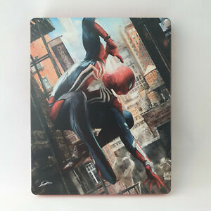 Sony Playstation 4 PS4 - Spider-Man Steelbook Promo NEW