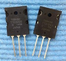 5pair(10pcs) of TTC5200& TTA1943 PNP Power Transistor