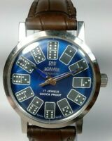 Vintage Roamer Mechanical Hand Winding Movement Mens Analog Wrist Watch A319