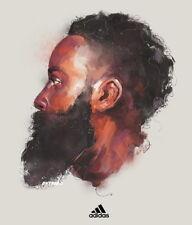 "184 James Harden - Slam Dunk Houston Rocket NBA Basketball 24""x28"" Poster"