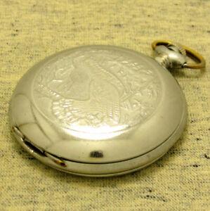 VINTAGE RUSSIAN Men's POCKET WATCH MOLNIJA. Mechanism 3602 ChChZ. 18 jewels