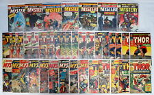 Lot 40 Marvel Comics Journey Into Mystery Thor #50-125 Silver/Bronze Age 1958-74