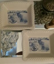 2x 1992 celebration of 100 years Shredded wheat square dishes