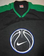 Nike Team Sports Basketball Logo Warm Up Jersey Size L Vintage